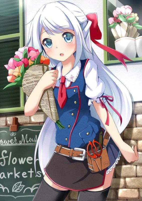 """Résultat de recherche d'images pour """"fille cheveux blancs manga"""""""